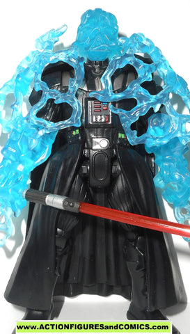 STAR WARS Hero Mashers DARTH VADER emperor's wrath lightning 6 inch toy figure