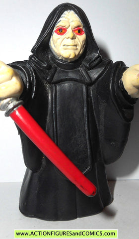 STAR WARS galactic heroes EMPEROR PALPATINE DARTH SIDIOUS pvc 000