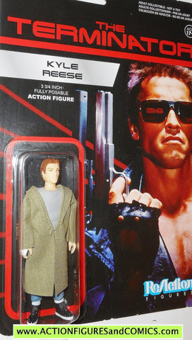 Reaction figures Terminator KYLE REESE Michael biehn movie action moc