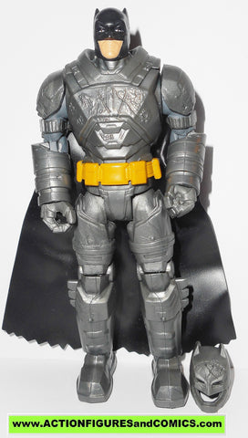 dc universe movie Batman v Superman BATTLE ARMOR removable helmet action figures