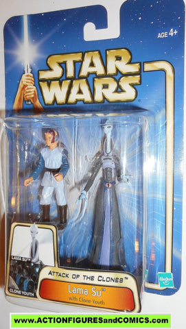 star wars action figures LAMA SU BOBA FETT 2002 Attack of the clones saga movie moc