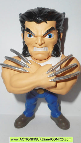 metals die cast marvel WOLVERINE LOGAN X-men 4 inch Jada toys