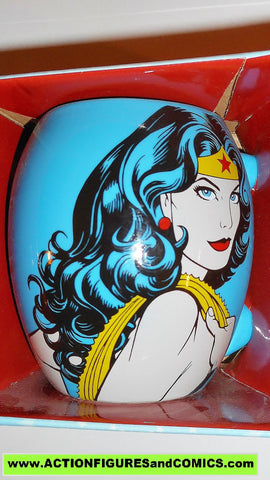 DC comic super heroes WONDER WOMAN mug 18 oz ceramic
