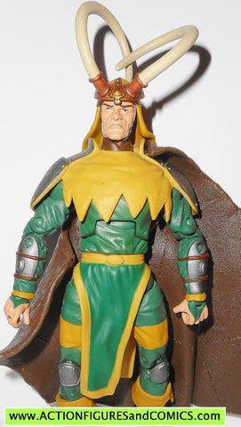 marvel legends LOKI onslaught series thor toy biz action fig