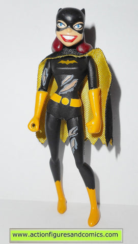 batman animated series BATGIRL BATTLE damaged tru catwoman attacks