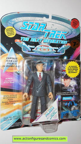 Star Trek CAPTAIN PICARD DIXON HILL playmates action figures moc next generation