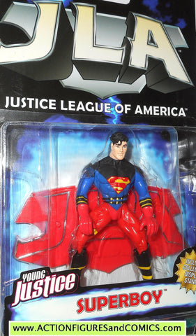 Total Justice JLA SUPERBOY superman dc universe league action figure moc