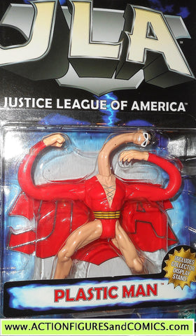 Total Justice JLA PLASTIC MAN dc universe league kenner action figure moc