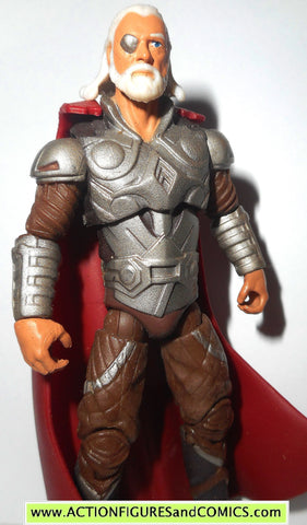marvel universe ODIN thor movie silver armor 2010 sheild bash fig