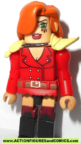 minimates CRY for DAWN Indie Comic series mini mates super heroes