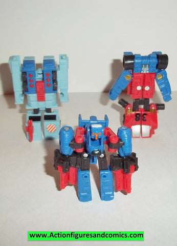 Transformers armada EMERGENCY TEAM 2003 repaints mini cons firebot makeshift prowl complete