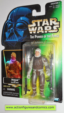 star wars action figures DENGAR 1997 col 2 .00 power of the force action figure moc