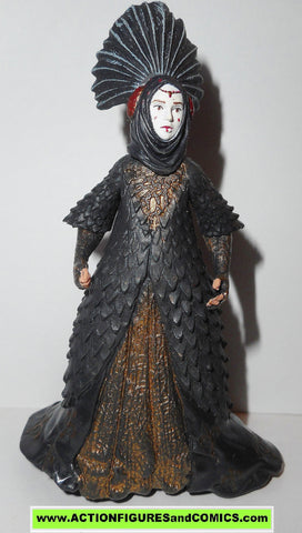 star wars action figures QUEEN AMIDALA royal decoy sabe power of the jedi potj