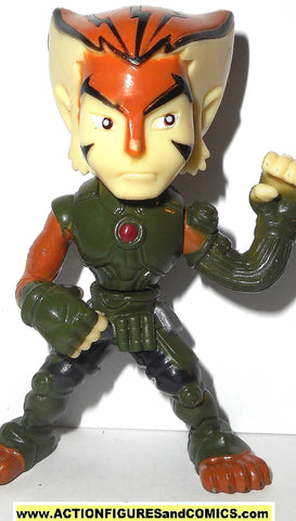 Thundercats TYGRA 2.5 inch PVC modern bandai animated super deformed tiger