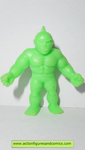 Muscle m.u.s.c.l.e men kinnikuman POWERFULMAN 205 1985 green mattel toys action figures