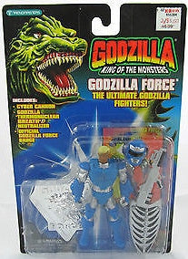 GODZILLA king of the monsters 1994 MICHAEL VAN HORN DUTCH trendmasters godzilla force new moc