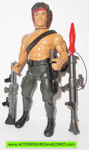 RAMBO action figures JOHN RAMBO sylvester stallone 1986 coleco force of freedom