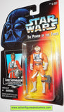 star wars action figures LUKE SKYWALKER X-WING FIGHTER PILOT GEAR .01 transition tray power of the force moc