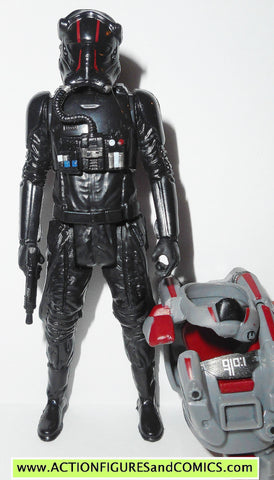 star wars action figures TIE FIGHTER PILOT armor up force awakens