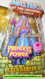 Masters of the Universe SPINNERELLA she-ra classics princess of power motu action figures moc