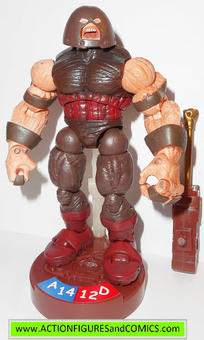 marvel universe JUGGERNAUT X-men legends showdown action figures