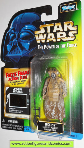 star wars action figures ZUCKUSS 1998 power of the force toys moc