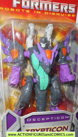 transformers classics TRYPTICON universe 2.0 generations legends rid 2006 moc