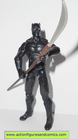 marvel universe BLACK PANTHER 2009 series 1 5 action figures hasbro