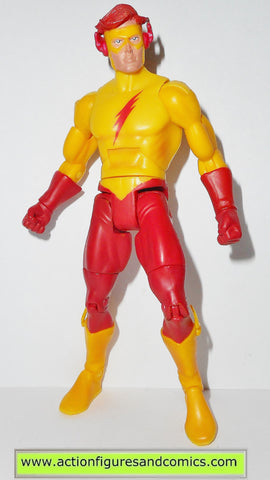 DC UNIVERSE classics KID FLASH wave 7 atom smasher action figures