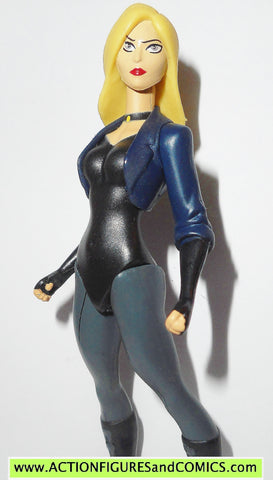 Young Justice BLACK CANARY dc universe justice league action figures
