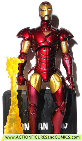marvel universe IRON MAN extremis armor 007 2010 series 2 7 action figures