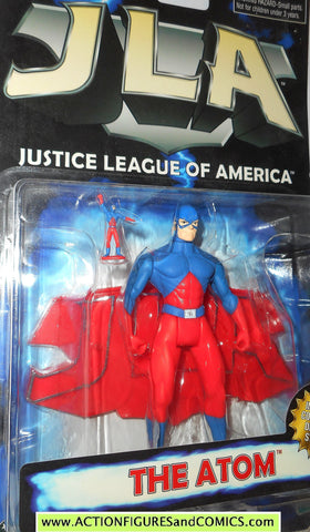 Total Justice JLA ATOM Ray palmer dc universe justice league action figures moc mip mib