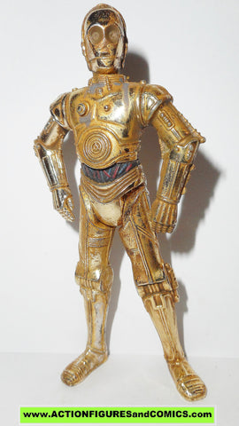 star wars action figures C-3PO tatooine purchase of the droids power of the force potf
