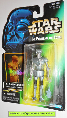 star wars action figures 2-1B medic droid 00 power of the force action figure