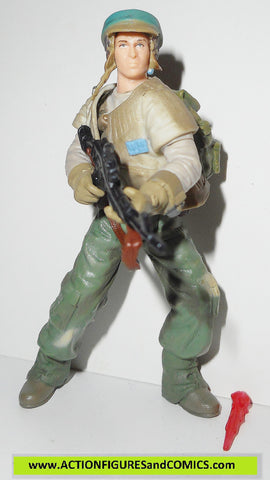 star wars action figures ENDOR REBEL TROOPER saga varaint 2002 aotc
