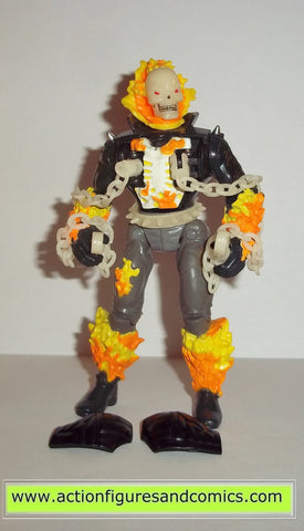 ghost rider toy biz EXPLODING GHOSTFIRE CHEST 1995 marvel action hour universe complete