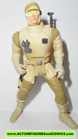 star wars action figures HOTH REBEL SOLDIER deluxe version power of the force