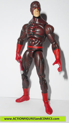 marvel universe DAREDEVIL series 1 dark red repaint 008 hasbro