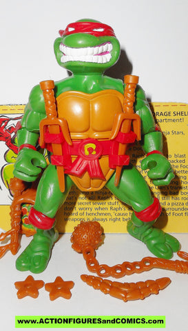 teenage mutant ninja turtles RAPHAEL RAPH Storage shell 1992 tmnt complete