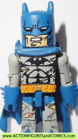 minimates BATMAN BLUE Battle damaged dc universe action figures