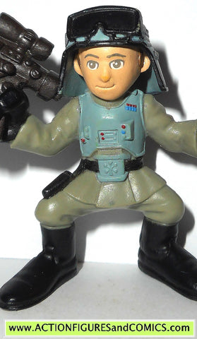 STAR WARS galatic heroes AT AT COMMANDER GENERAL VEERS complete hasbro
