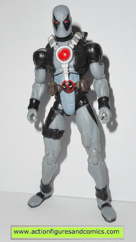 marvel universe DEADPOOL x-force gray suit x-men complete grey action figures hasbro toys fig