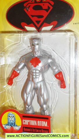 DC Direct CAPTAIN ATOM Public enemies batman superman collectibles universe moc