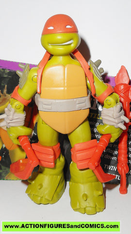 teenage mutant ninja turtles MICHELANGELO mystic 2012 Nickelodeon playmates toys tmnt #wea