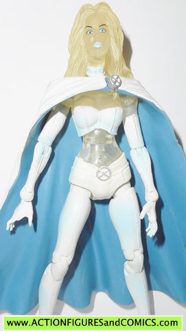 marvel legends WHITE QUEEN emma frost diamond variant action figures