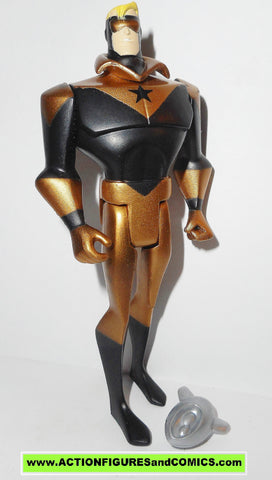 justice league unlimited BOOSTER GOLD copper SKEETS dc universe action figures