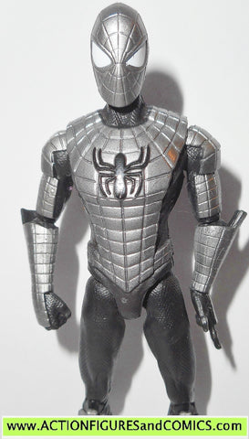 marvel universe SPIDER-MAN web armor armored infinite legends 2014