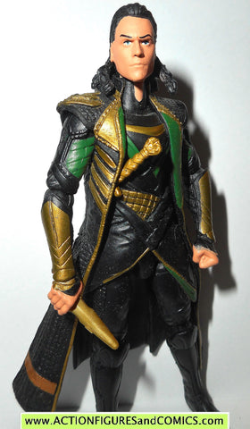 marvel universe LOKI frost dagger thor Dark World movie action figure
