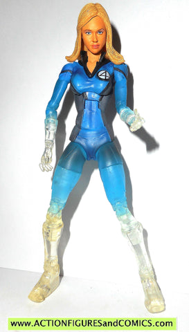 Fantastic Four Invisible Woman clear Action Figure MOC
