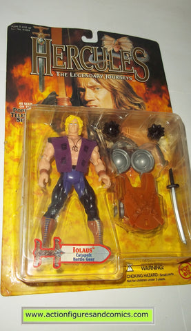Hercules Legendary Journeys IOLAUS action figures toy biz mib moc mip
